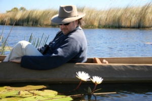 On safari in Botswana.