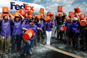FedEx Ice Bucket Challenge